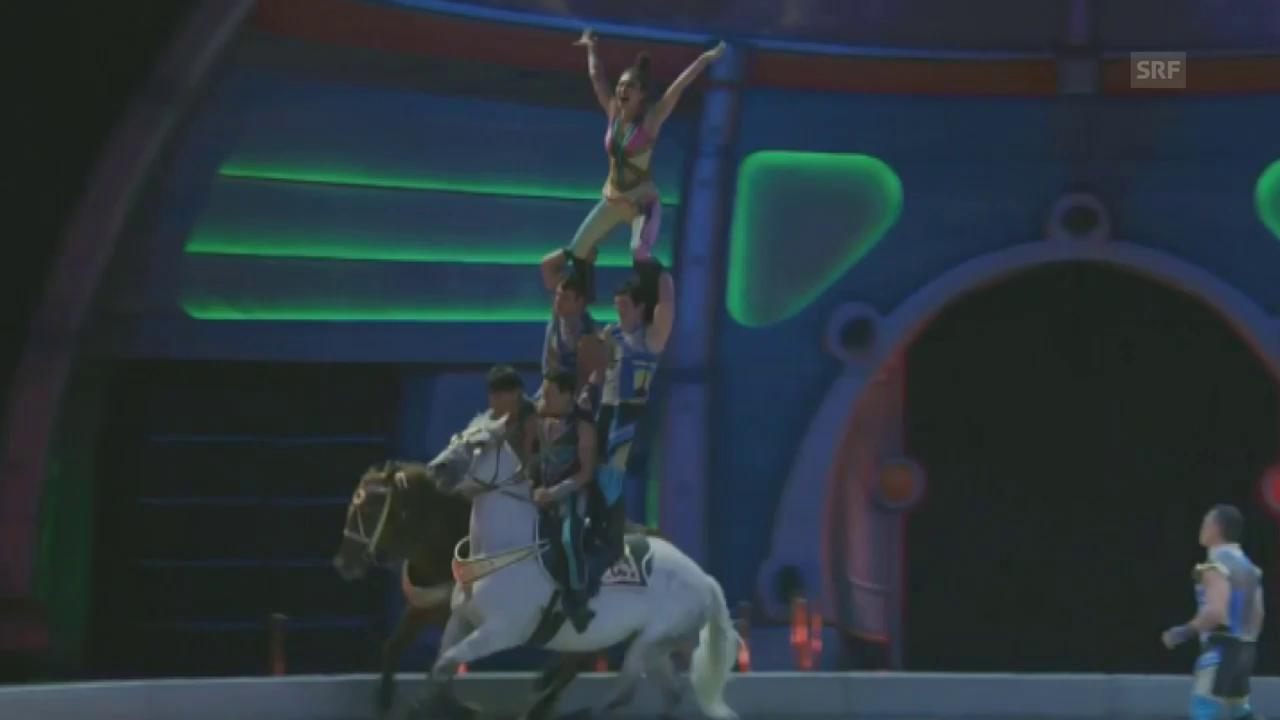 Letzte Show des Zirkus Ringling