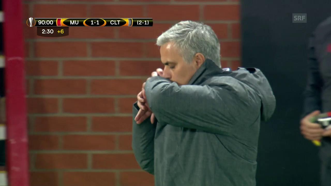 Mourinhos bange Minuten