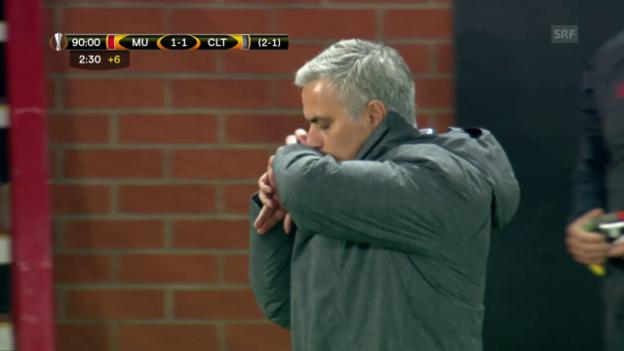 Video «Mourinhos bange Minuten» abspielen