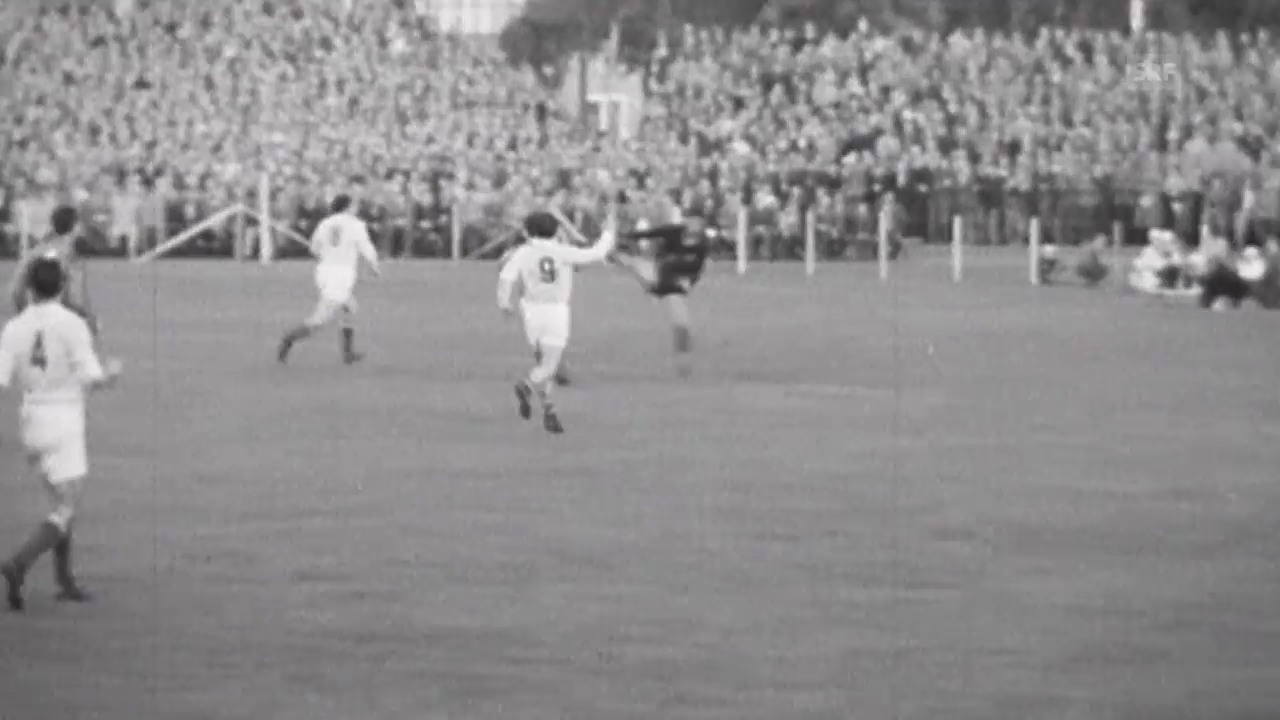 Fussball: WM 1958, FRA-YUG, Tore Just Fontaine