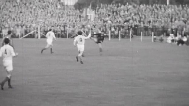Video «Fussball: WM 1958, FRA-YUG, Tore Just Fontaine» abspielen