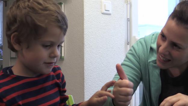 Video «Autismus-Therapie (2)» abspielen