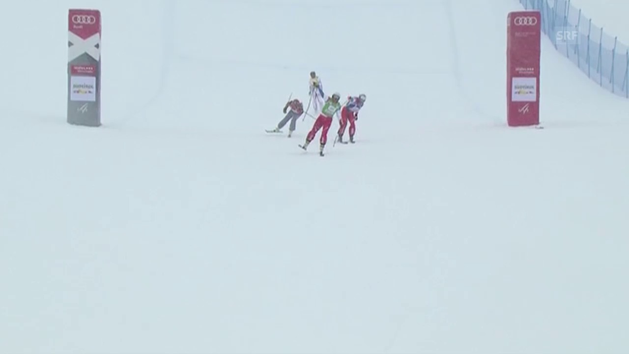 Schweizer Doppelsieg im Skicross