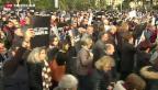 Video «Grosse Anteilnahme in Paris» abspielen