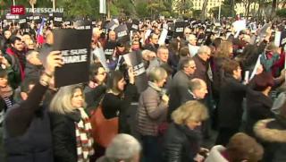 Video «Grosse Anteilnahme in Frankreich» abspielen
