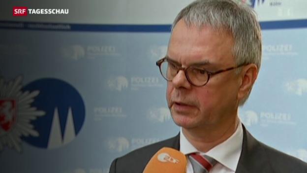 Video «Kölner Polizeipräsident Albers muss gehen» abspielen