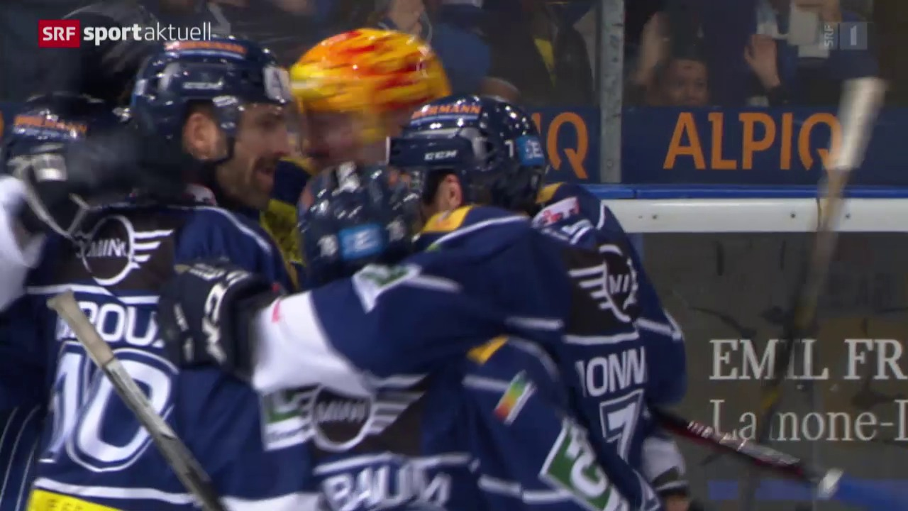 Eishockey: NLA, Ambri - ZSC Lions