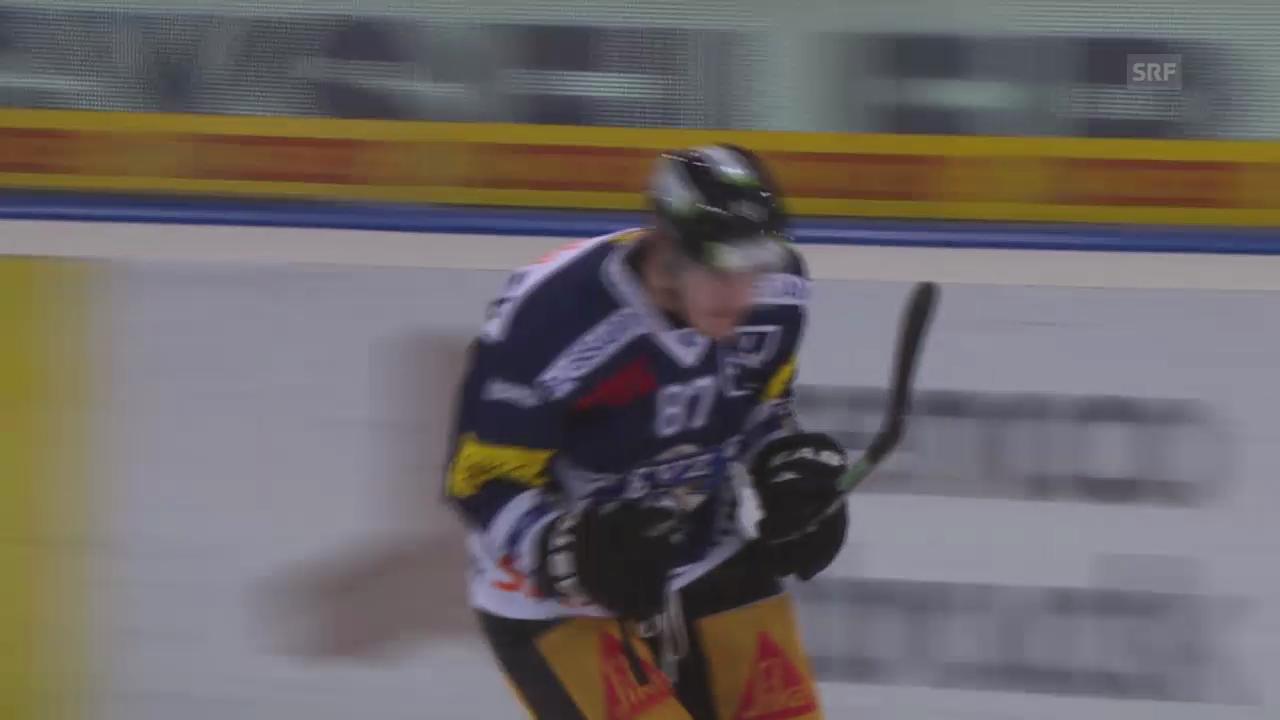 Eishockey: EVZ-HCD, Penalty Bürgler