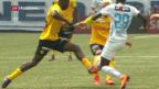 Video «FCZ wird Cupsieger - Zürcher Fans in Feierlaune» abspielen