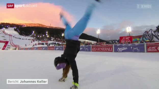 Video «Ski Alpin: Riesenslalom der Frauen in Are» abspielen