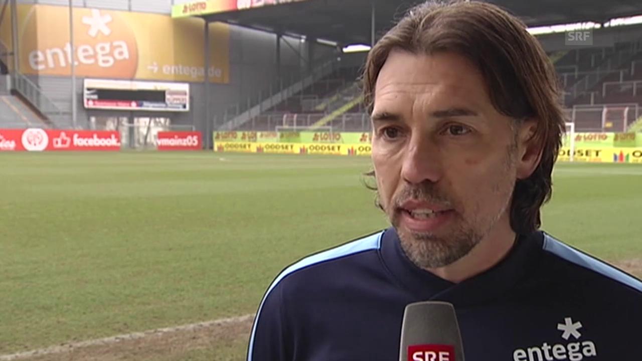 Fussball: Bundesliga, Interview mit Martin Schmidt