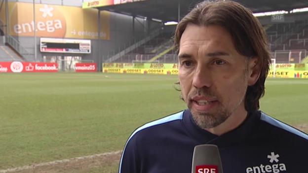 Video «Fussball: Bundesliga, Interview mit Martin Schmidt» abspielen