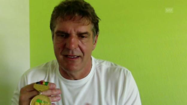 Video «Günthörs Medaille ruht im stillen Kämmerlein» abspielen