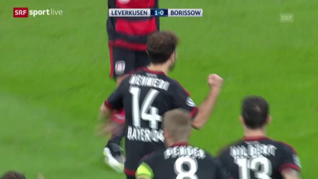 Video «Fussball: Mehmedis Tor zum 1:0» abspielen