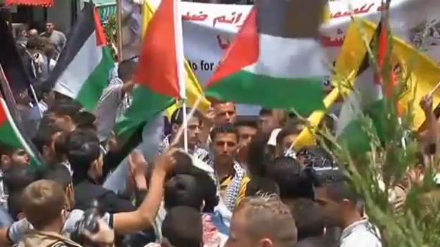 Video «Demonstrationen zur Nakba (unkommentiert)» abspielen