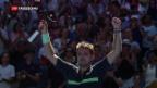 Video «Federer und Wawrinka am Australien Open weiter» abspielen