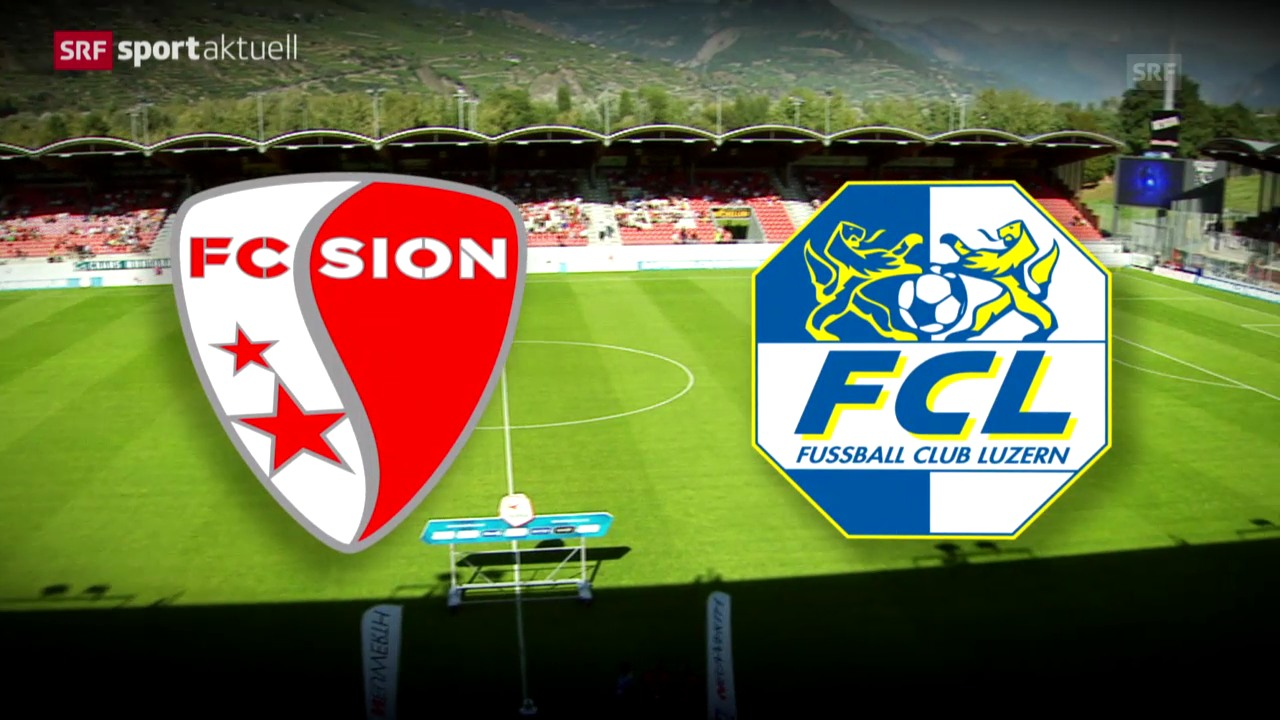 Fussball: Vorschau Sion - Luzern
