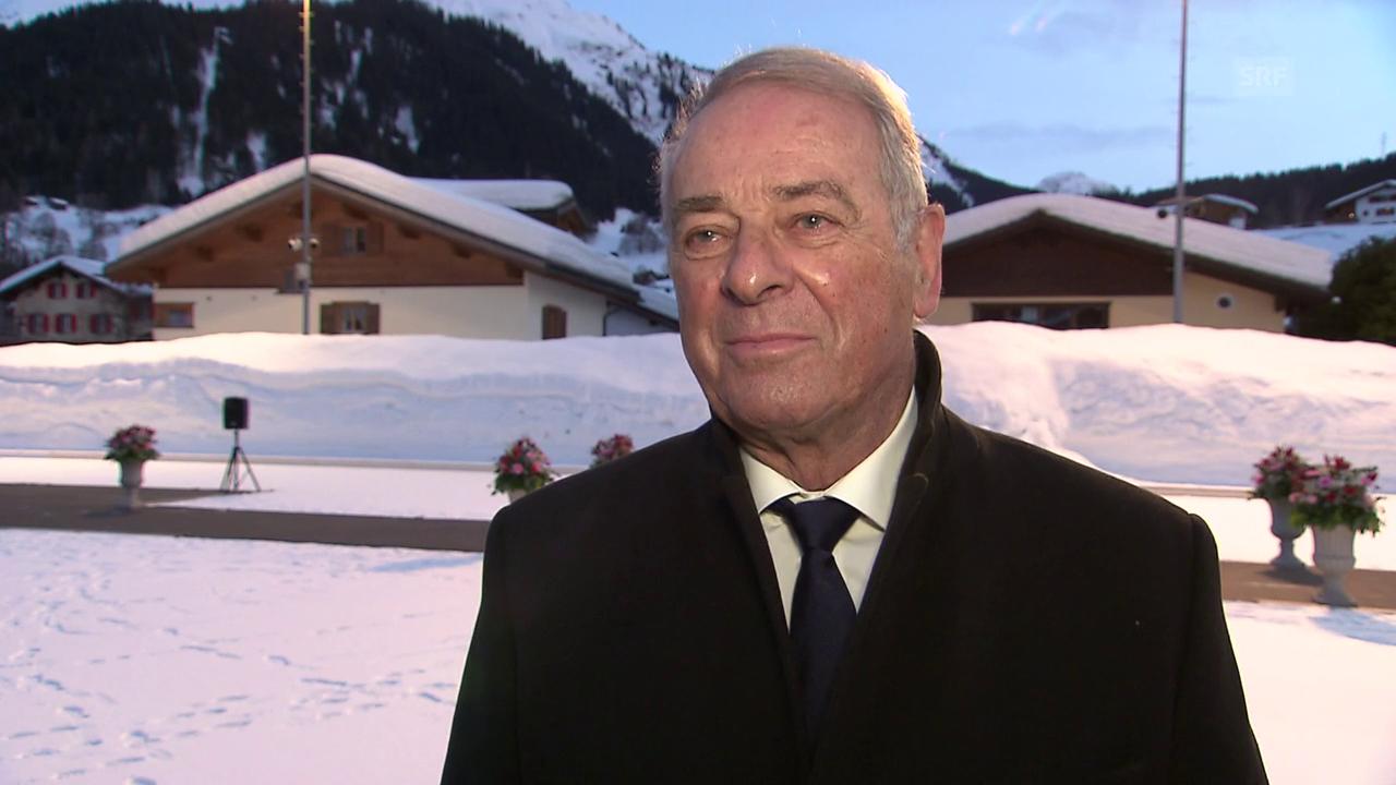 Adolf Ogi: «Prinz Charles ist ein sehr liebenswürdiger Mensch»