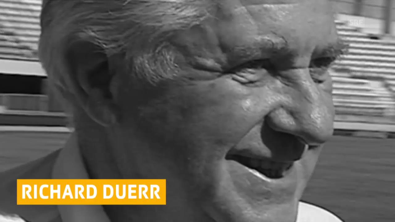 Richard Dürr verstorben