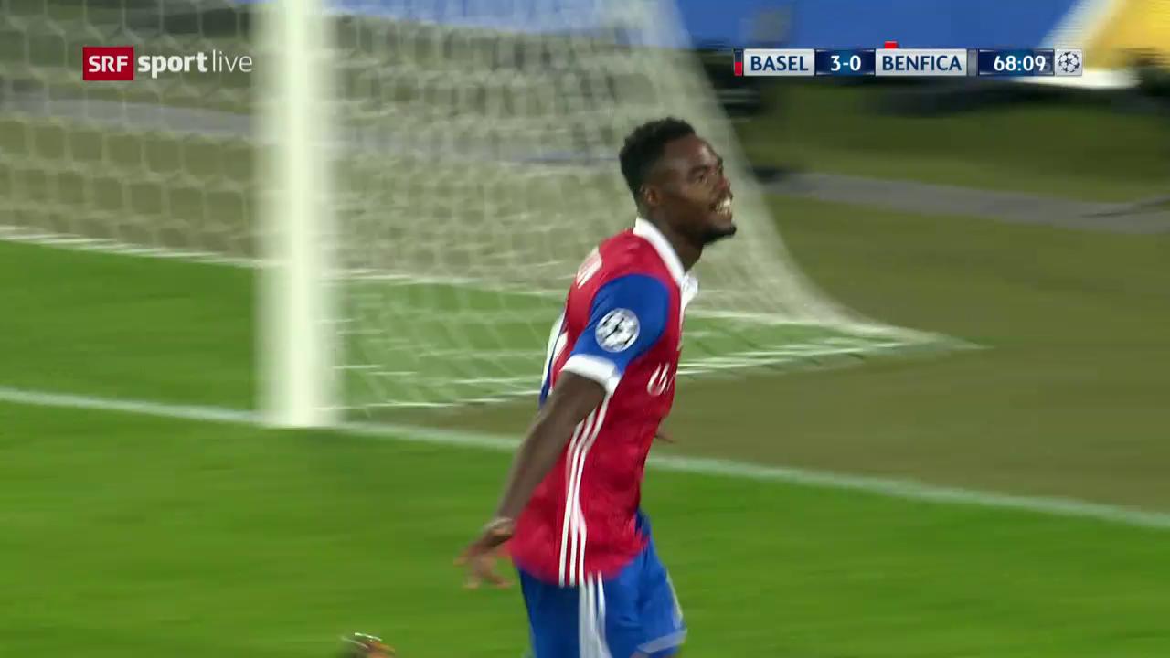 Die Live-Highlights von Basel-Benfica