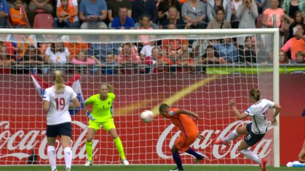 Video «Frauen-EM: Der entscheidende Treffer bei Niederlande-Norwegen» abspielen
