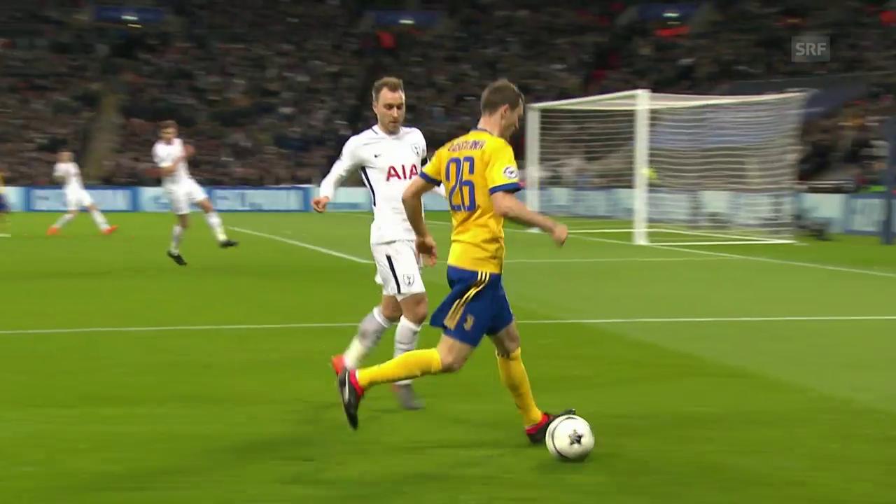 Juve-Joker Lichtsteiner glänzt gegen Tottenham