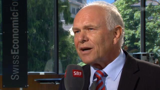 Hans Hess verneint Ambitionen auf Economiesuisse