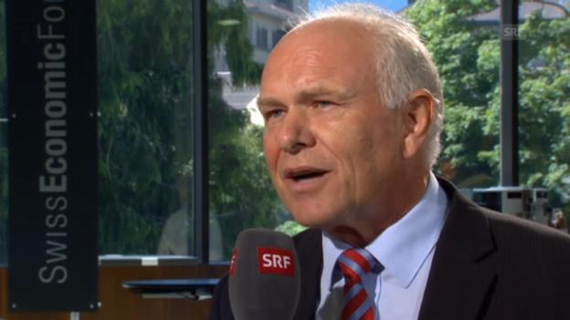 Video «Hans Hess verneint Ambitionen auf Economiesuisse» abspielen