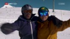 Video «Charles Nguela vs. Philippe Gerber: Snowboard» abspielen