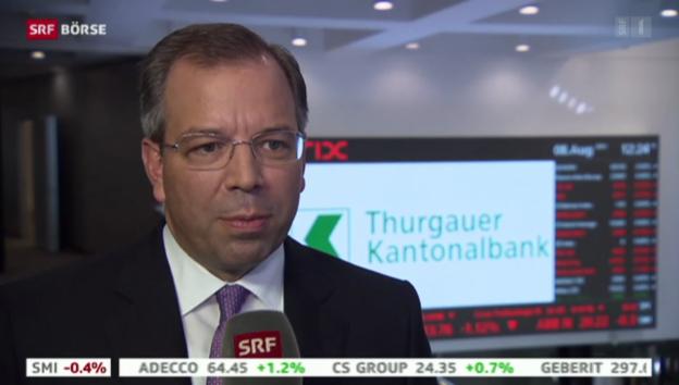 Video «SRF Börse vom 08.08.2014» abspielen