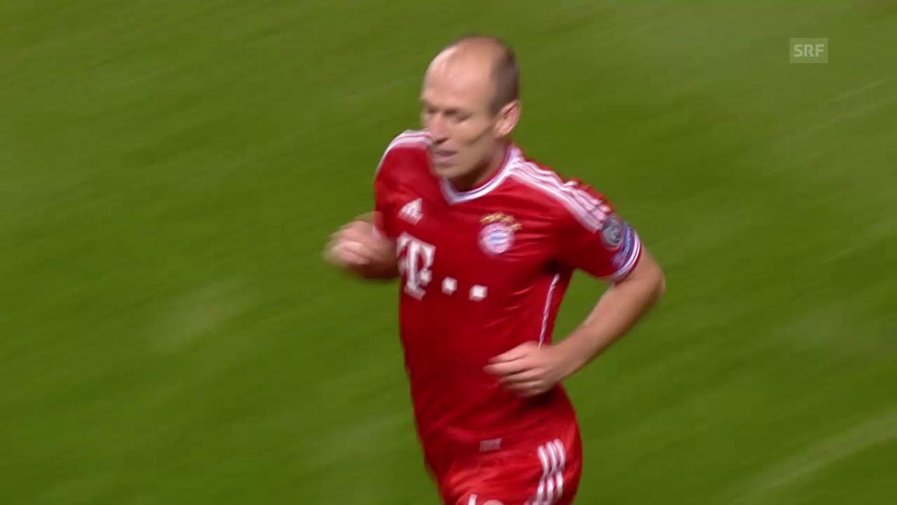 Robbens Tor gegen Manchester City