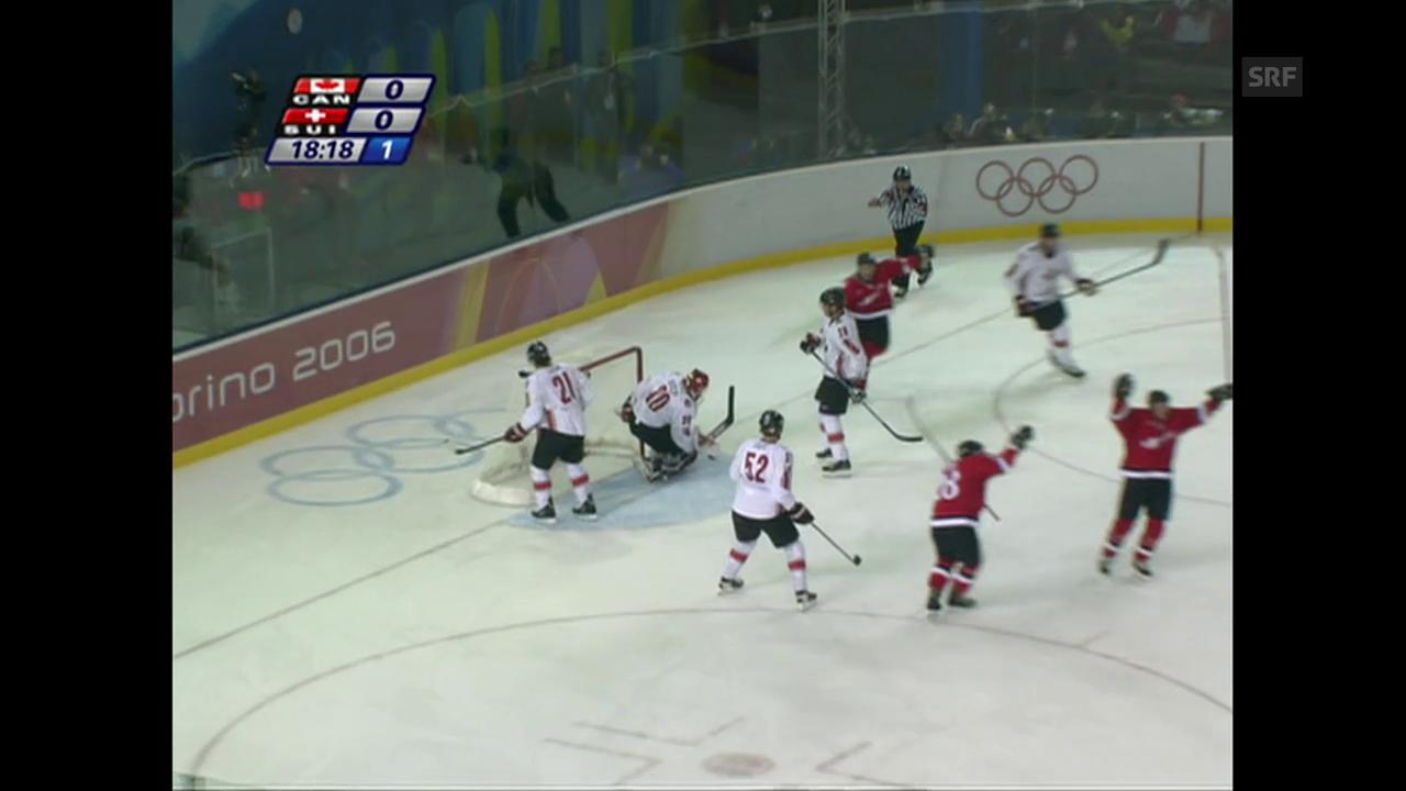 Olympia 2006: Schweiz - Kanada 2:0