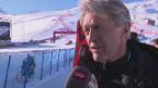 Video «Russi, Büchel und Co.: Ski-Legenden beim Charity-Race» abspielen