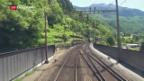 Video «Bahninfrastruktur anfällig für Sabotage-Akte» abspielen