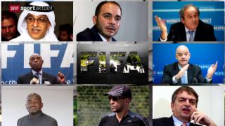 Video «Fussball: Die Kandidaten in der FIFA-Wahl » abspielen