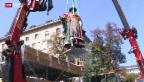 """Video «St.Galler """"Vadian""""-Statue aus Kur zurück» abspielen"""