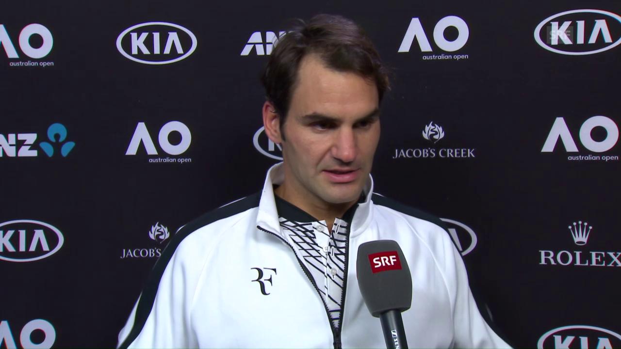 Federer: «Bin selber durcheinander»