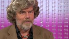 Video «Reinhold Messner über die Kletterkarriere seines Sohnes» abspielen