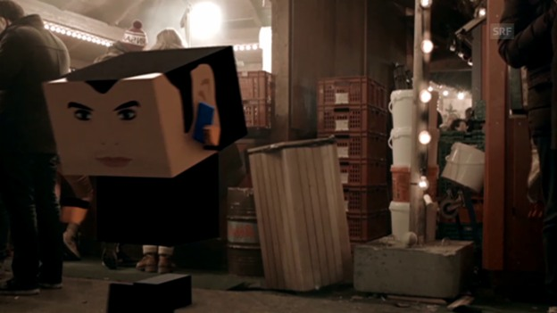Video «Der Bestatter meldet sich zurück: Fabio am Weihnachtsmarkt» abspielen
