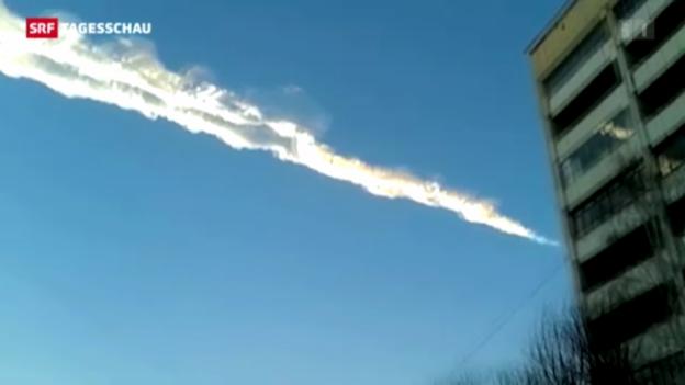 Video «Meteoriten-Hagel in Russland» abspielen