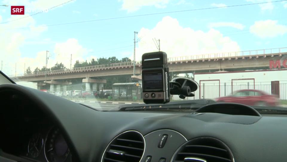 Kameras zum Schutz der Autofahrer