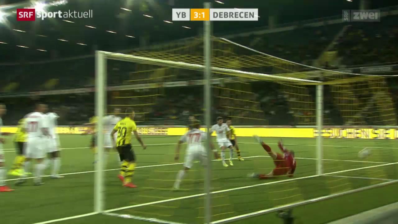 Fussball: EL-Playoffs, YB - Debrecen