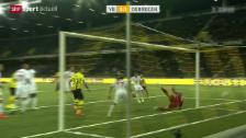Video «Fussball: EL-Playoffs, YB - Debrecen» abspielen