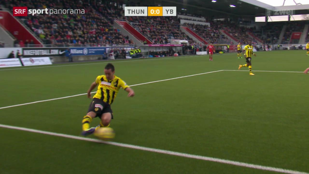 Fussball: Thun - YB