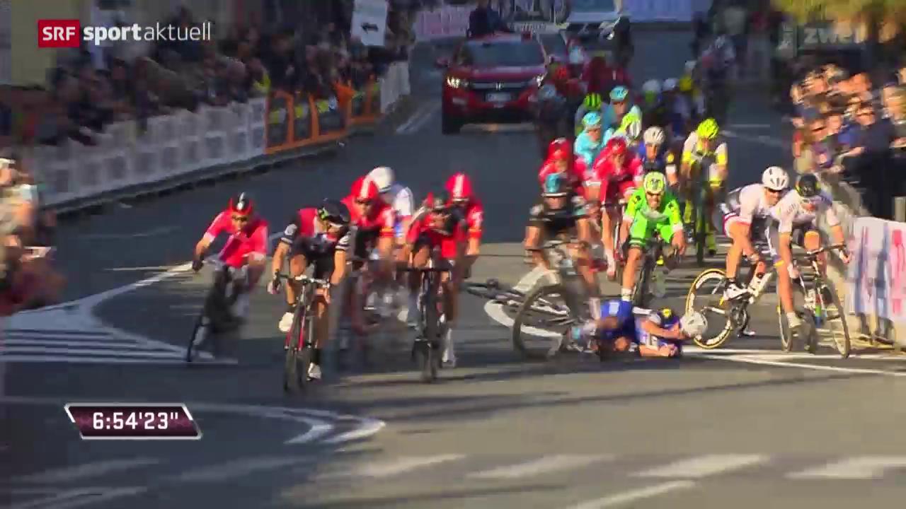 Pech für Cancellara bei Mailand - Sanremo