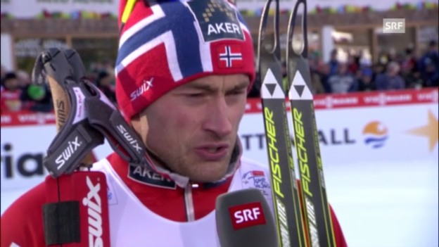 Video «Interview mit Petter Northug» abspielen