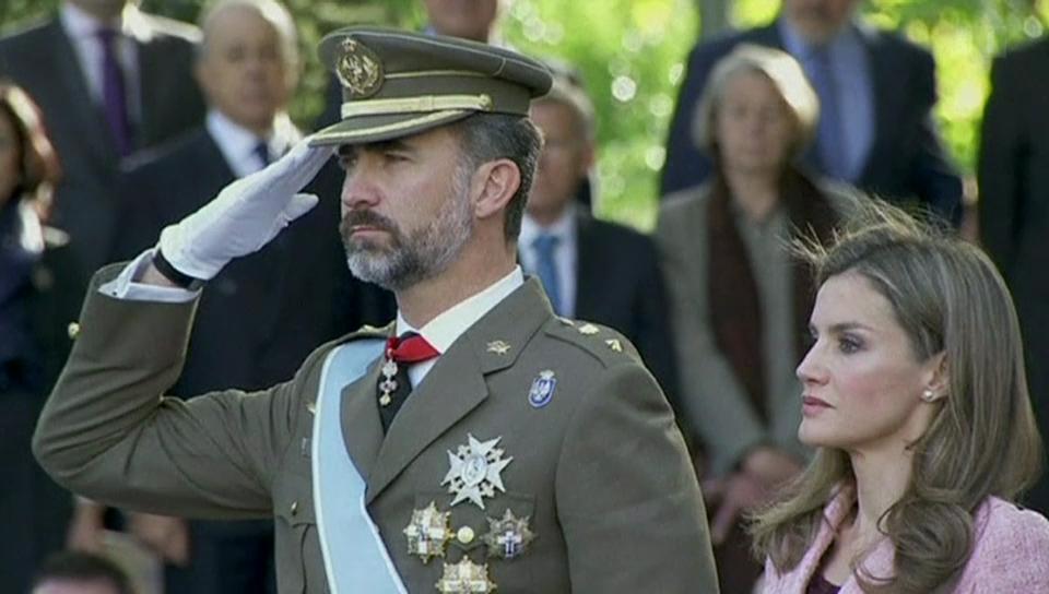 Das künftige Königspaar Felipe & Letizia