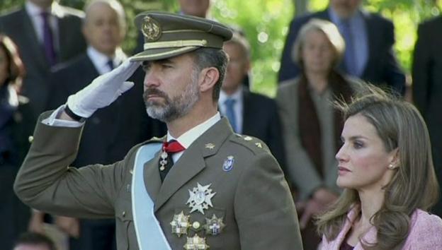 Video «Das künftige Königspaar Felipe & Letizia» abspielen