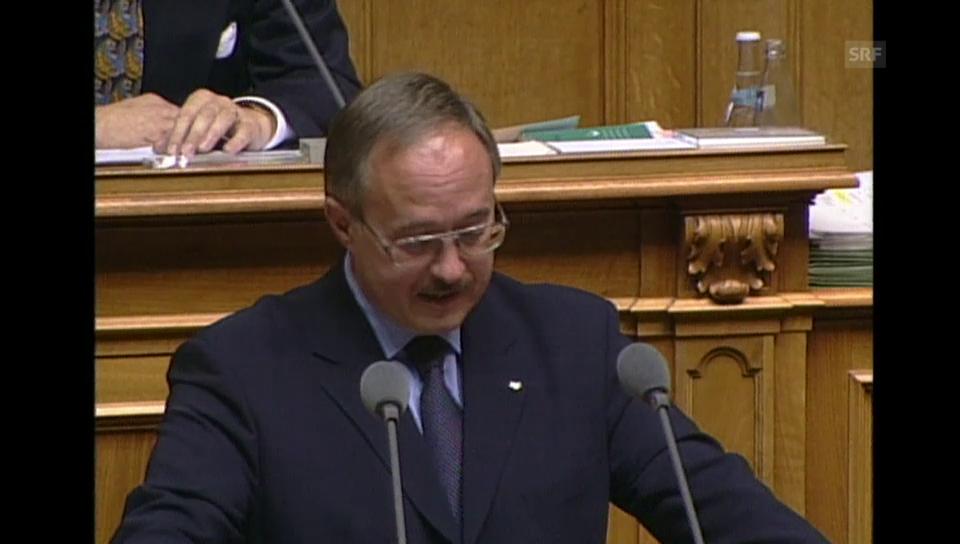 Samuel Schmid gewählt (Schweiz Aktuell, 1999)