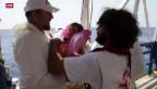 Video «Flüchtlingsdrama im Mittelmeer» abspielen